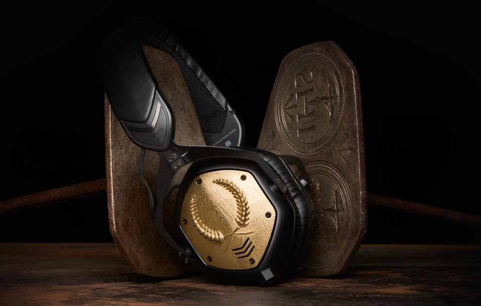V-Moda Crossfade M-100 with 3D printed shields